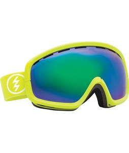 Electric EGB2S Goggles Toxic Snot/Grey/Green Chrome Lens