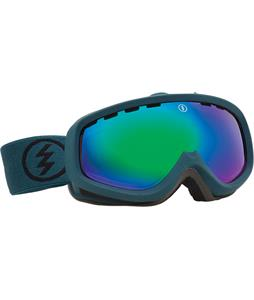 Electric EGK Goggles Dark Seas/Bronze/Green Chrome Lens