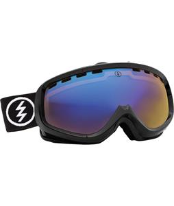 Electric EGK Goggles Gloss Black/Yellow/ Blue Chrome Lens