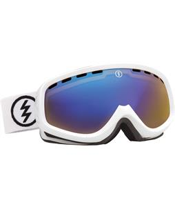 Electric EGK Goggles Gloss White/Yellow/ Blue Chrome Lens