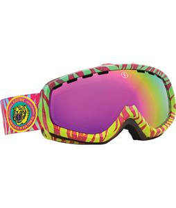 Electric EGK Goggles Neon Zebra/Bronze/Pink Chrome Lens