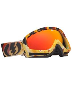Electric EGK Goggles Parker White/Bronze/Red Chrome Lens