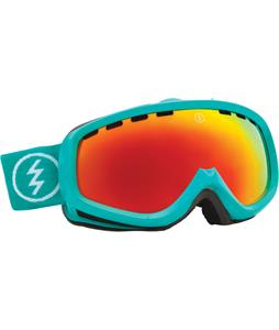 Electric EGK Goggles The Real Teal/Bronze/Red Chrome Lens