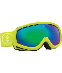 Electric EGK Goggles Toxic Snot/Bronze/Green Chrome Lens