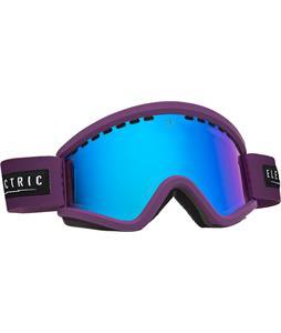 Electric EGV Goggles Haze/Bronze/Blue Chrome And Bonus Lens