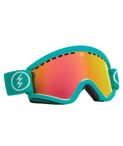 Electric EGV Goggles The Real Teal/Grey/Red Chrome Lens