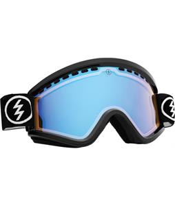 Electric EGV Goggles Gloss Black/Yellow/ Blue Chrome + Bonus Lens