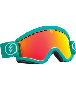 Electric EGV Goggles The Real Teal/Bronze/Red Chrome And Bonus Lens