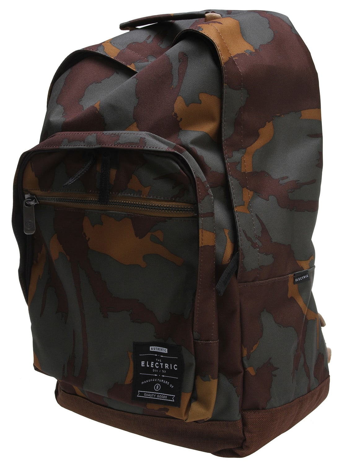 Electric Everyday Printed Backpack Camo Olive