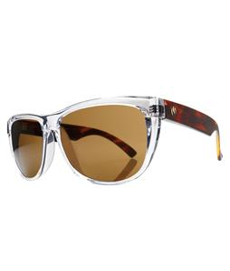 Electric Flip Side Sunglasses Tortoise Crystal/Melanin Bronze Lens