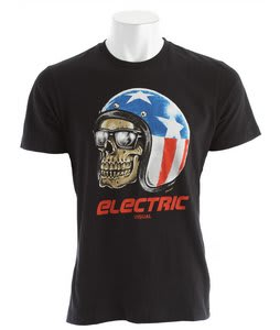 Electric Helmet T-Shirt Black