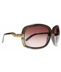 Electric Hightone Sunglasses Havana Brown/Brown Gradient Lens