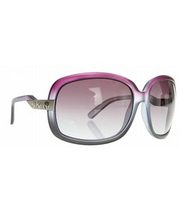 Electric Hightone Sunglasses Matte Purple/Grey Gradient Lens