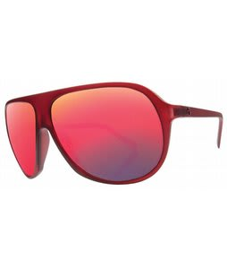 Electric Hoodlum Sunglasses Plasma/Grey Plasma Chrome Lens