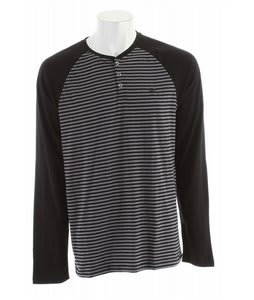 Electric Horizon Henley Shirt Black