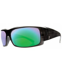 Electric Hoy Inc Sunglasses Black Box/Grey Green Chrome Lens