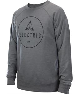 Electric Kansas Pullover Crew Sweatshirt Heather Grey