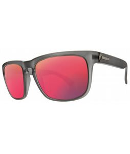 Electric Knoxville Sunglasses Ash Grey/Grey Plasma Chrome Lens