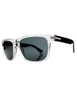Electric Knoxville Sunglasses Black Crystal/Melanin Grey Lens