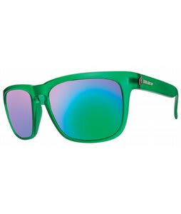 Electric Knoxville Sunglasses Dollar Bill/Grey Green Chrome Lens