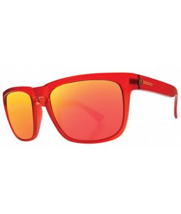 Electric Knoxville Sunglasses Fire Brick/Grey Fire Chrome Lens