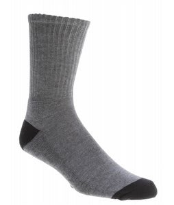 Electric La Brea Crew Socks (3 Pack) Grey
