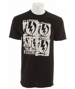 Electric Levels T-Shirt Black