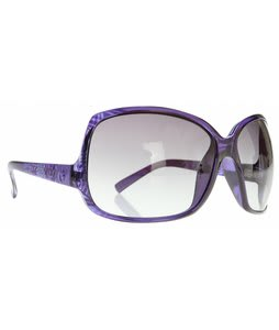 Electric Lovette Sunglasses Havanah Purple/Grey Gradient Lens