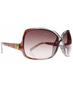 Electric Lovette Sunglasses Melon Twist/Brown Gradient Lens