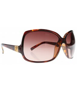 Electric Lovette Sunglasses Tortoise Shell/Brown Gradient Lens