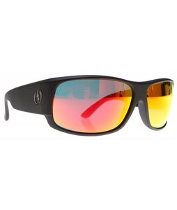 Electric Module Sunglasses Matte Black/Grey Fire Chrome Lens