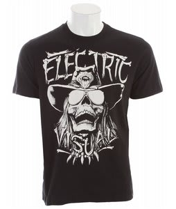 Electric Rattle T-Shirt Black