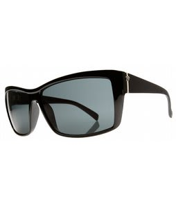 Electric Riff Raff Sunglasses Gloss Black/Grey Lens