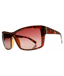 Electric Riff Raff Sunglasses Tortoise Shell/Brown Gradient Lens