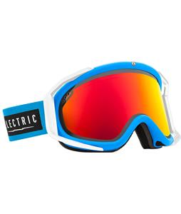 Electric Rig Goggles Code Blue/Bronze/Red Chrome And Bonus Lens