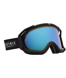 Electric Rig Goggles Gloss Black/Yellow/ Blue Chrome And Bonus Lens