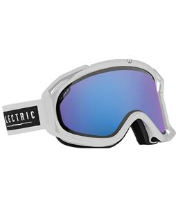 Electric Rig Goggles White Tropic/Rose/Blue Chrome And Bonus Lens