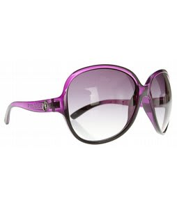 Electric Rockabye Sunglasses Purple Black Fade/Grey Gradient Lens