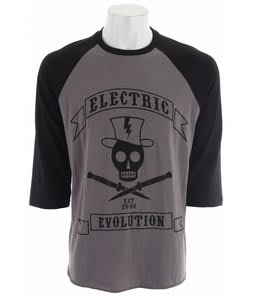 Electric Sling Blade Raglan 3/4 T-Shirt