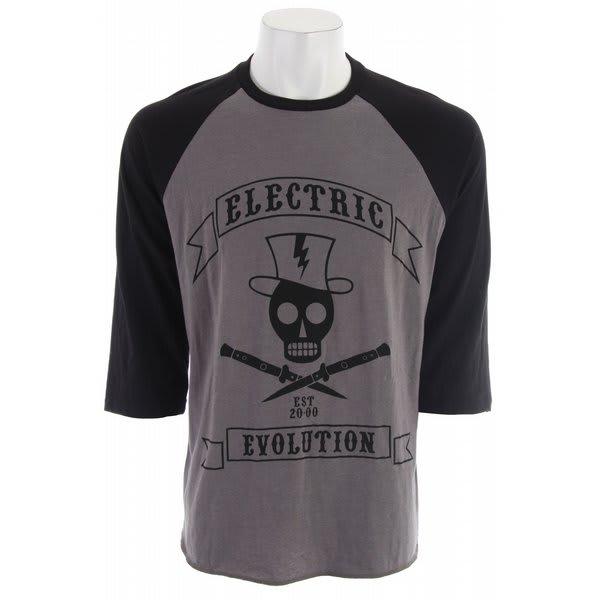 Electric Sling Blade Raglan 3/4 T-Shirt