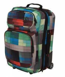 Electric Small Block Roller Travel Bag Dot Matrix