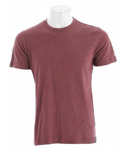 Electric Solid Heather T-Shirt Blood Red Heather