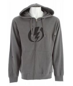 Electric Standard Volt Basic Zip Hoodie Heather Grey