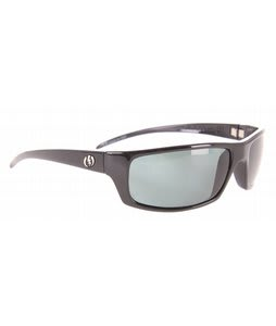 Electric Technician Sunglasses Gloss Black/Grey Polarized Lens