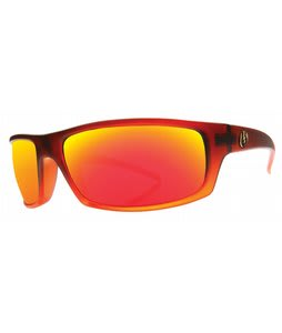 Electric Technician Sunglasses Cadmium Orange/Grey Fire Chrome Lens