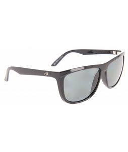 Electric Tonette Sunglasses Gloss Black/ Grey Polarized Lens