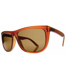 Electric Tonette Sunglasses Otter Brown/Bronze Bronze Chrome Lens