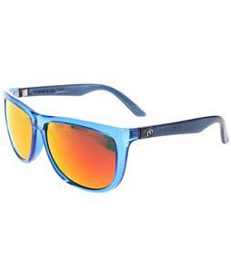 Electric Tonette Sunglasses Deep Sky/ Melanin Grey Fire Chrome Lens