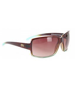 Electric Vol Sunglasses Brown Mint Fade/Brown Gradient Lens