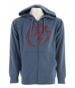 Electric Volt Type Basic Zip Hoodie